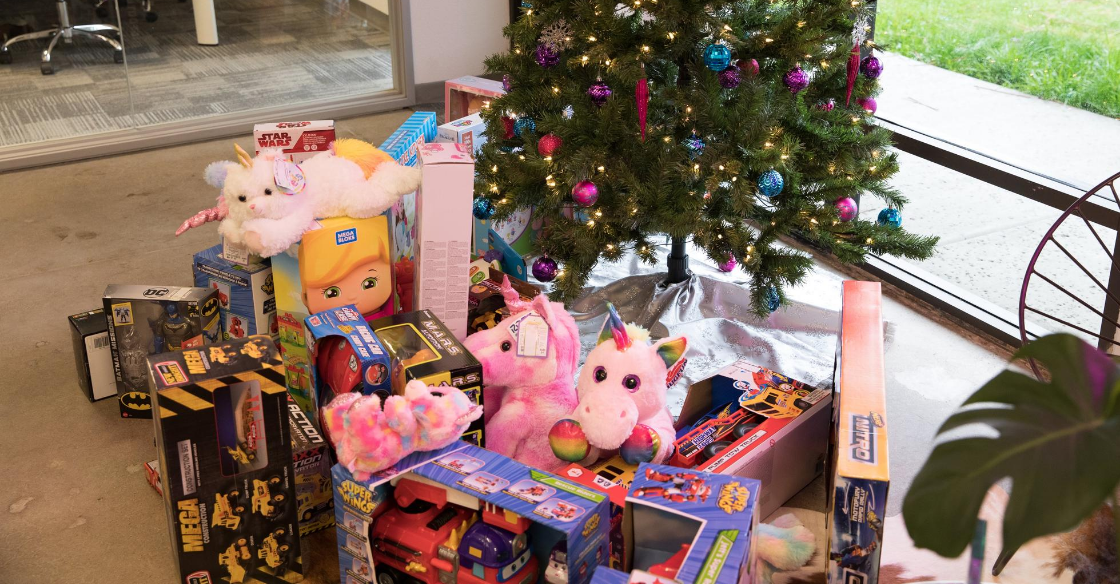 Gifts for Operation Santa's Elves